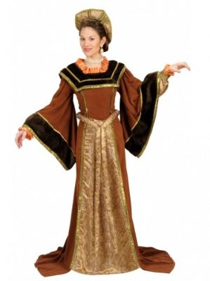 Deluxe Tudor Lady Medieval Plus Size Costume (9054)